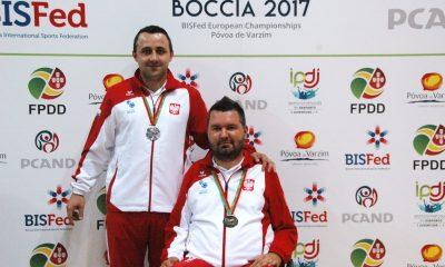 Damian Iskrzycki i jego asystent