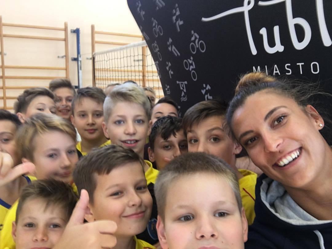 Kinga Kołosińska i dzieci
