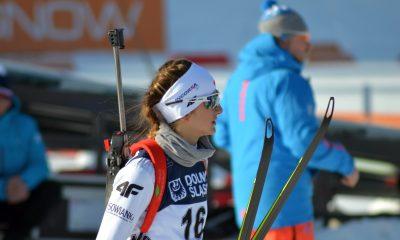 Monika Hojnisz przed startem
