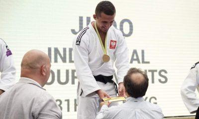 Rafał Kozłowski na podium