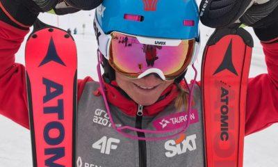 Maryna Gąsienica-Daniel po zawodach