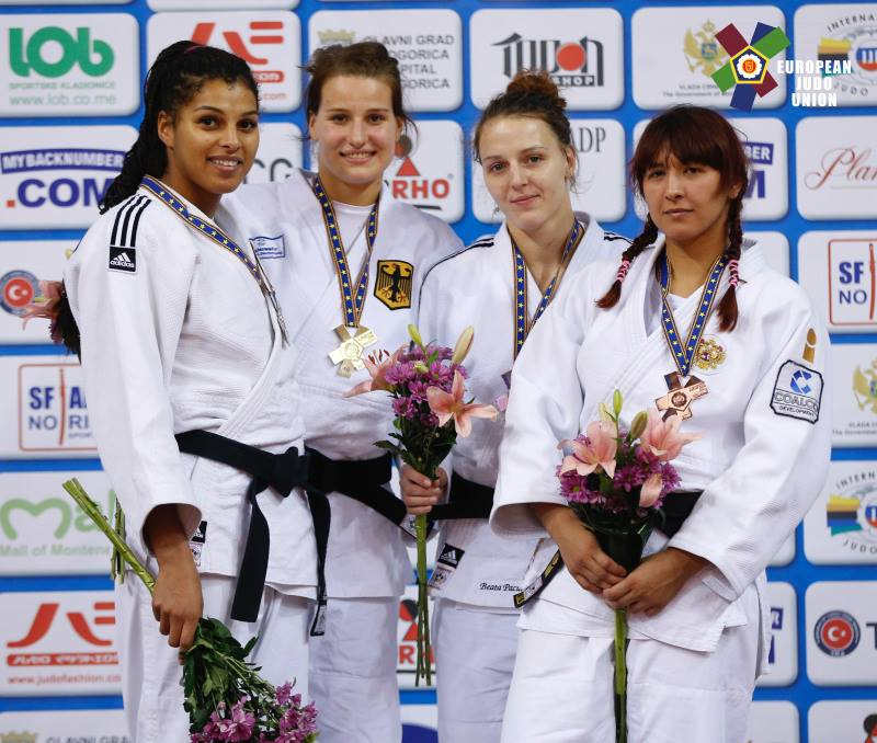 Beata Pacut z medalem