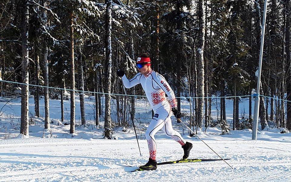 Maciej Staręga podczas biegu