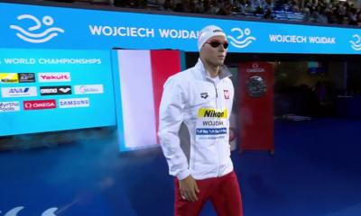 Wojciech Wojdak przed startem