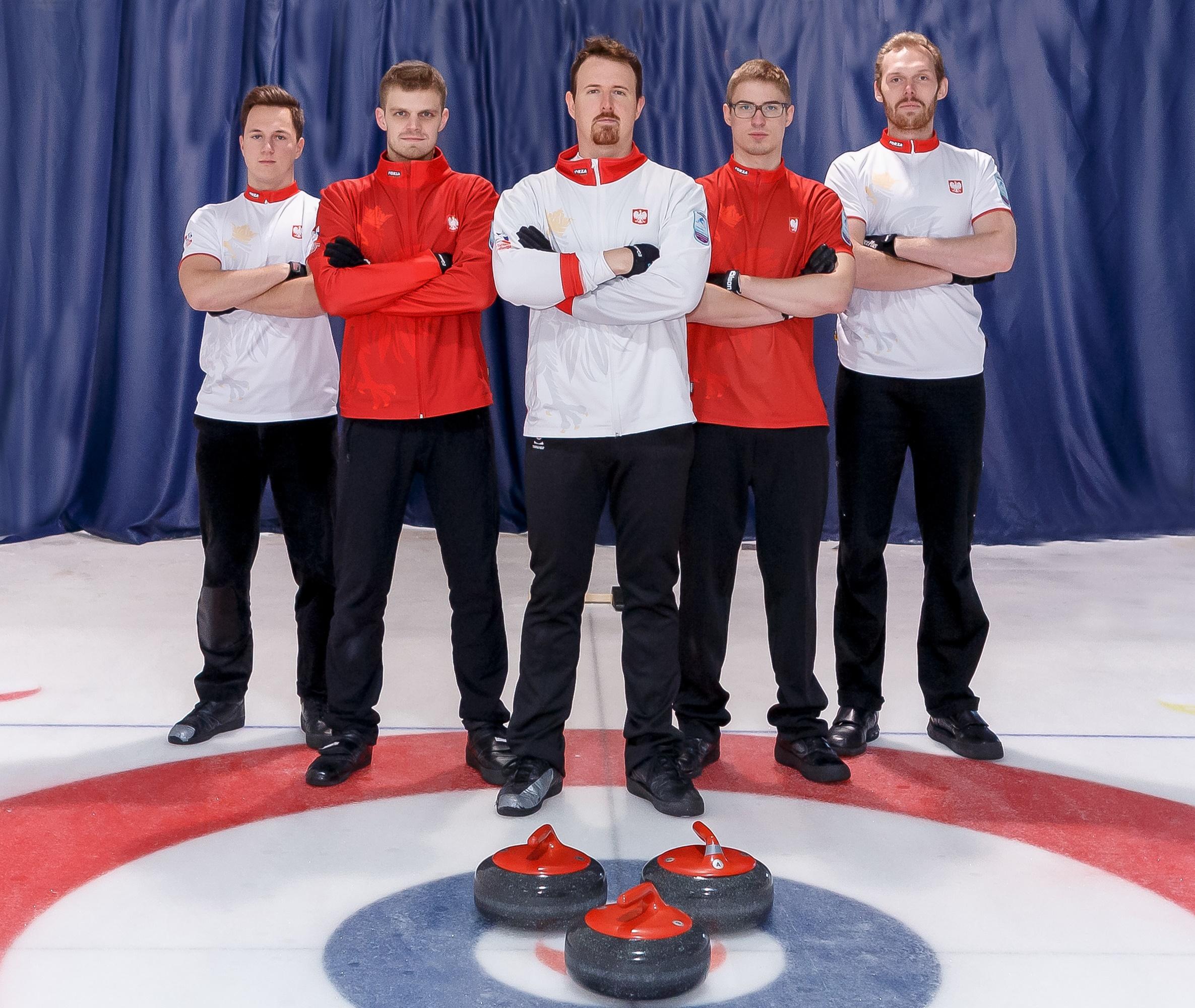 Nasza drużyna w curling