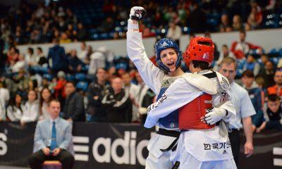 Anika Godel-Chełmecka celebruje wygraną