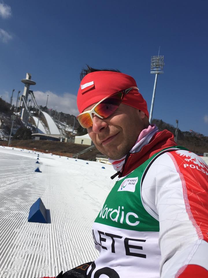 Kamil Rosiek podczas próby przedolimpijskiej