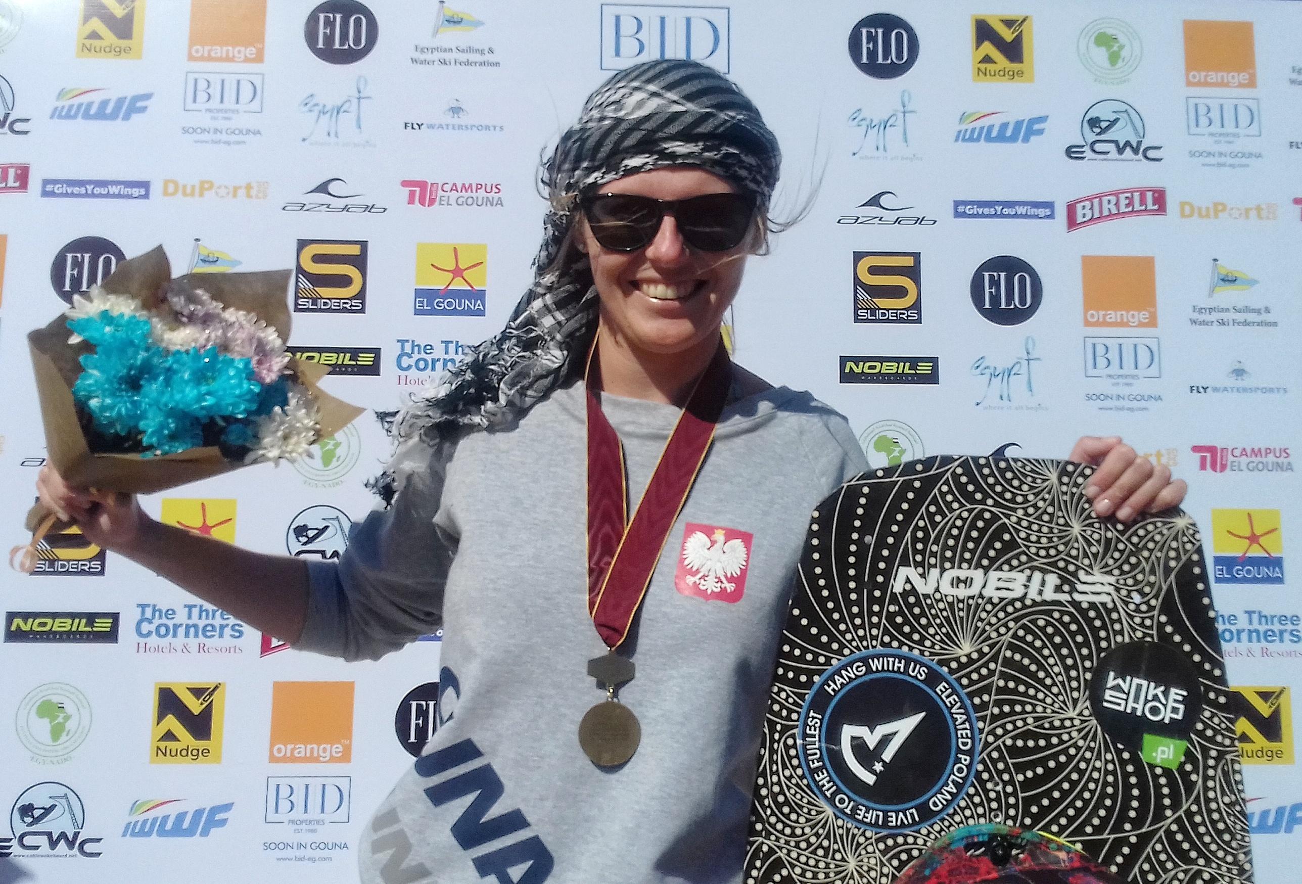 Natalia Grabowska z medalem