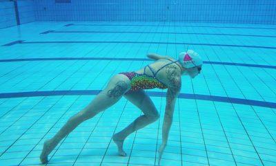Paulina Woźniak w wodzie