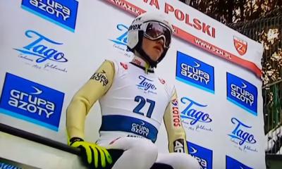 Tomasz Pilch na belce