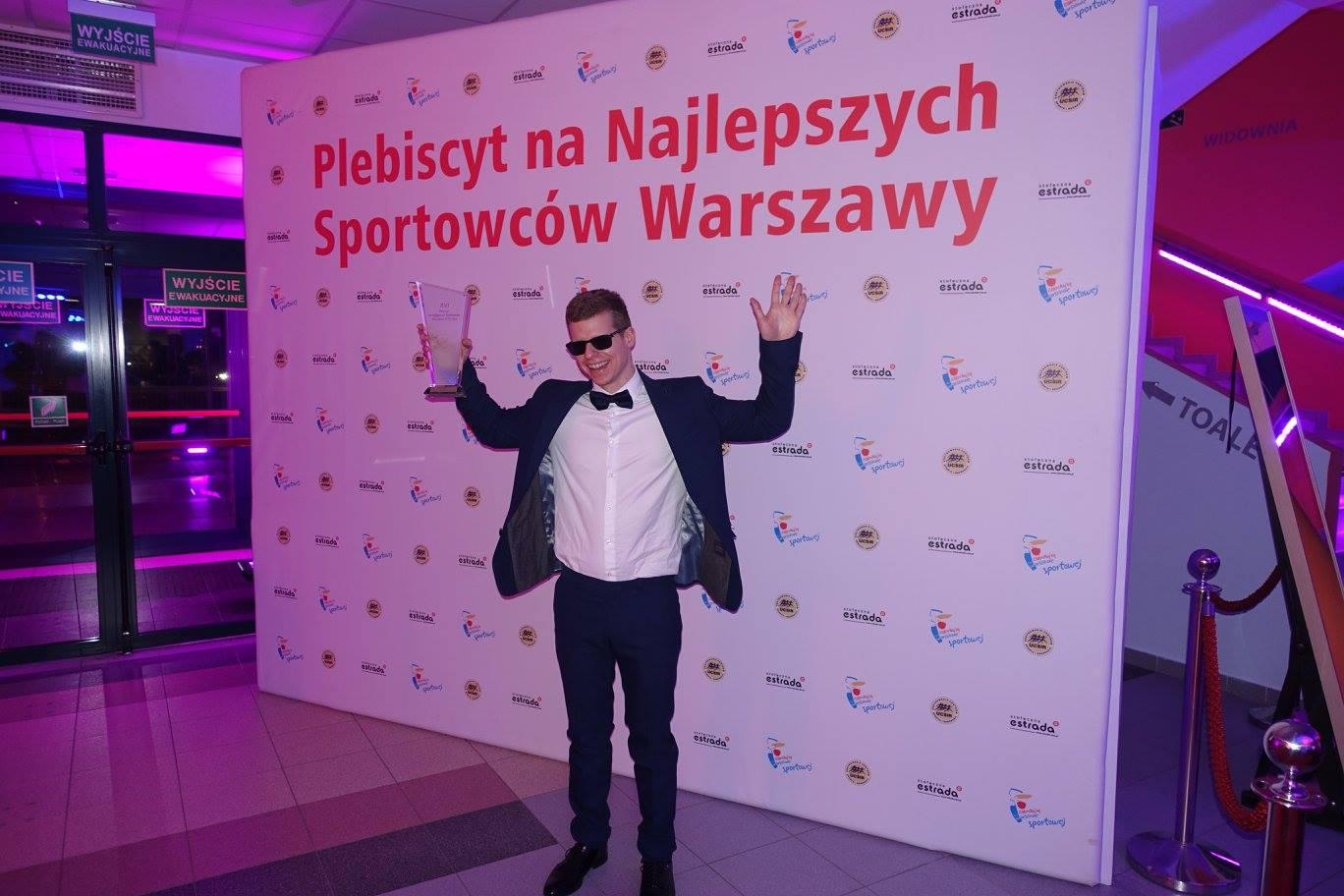 Wojciech Makowski na balu