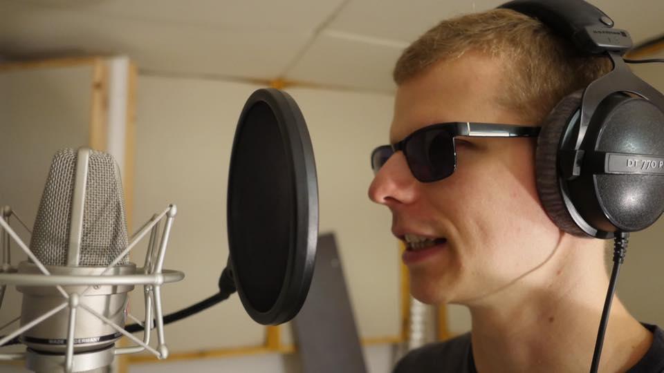 Wojciech Makowski jako raper