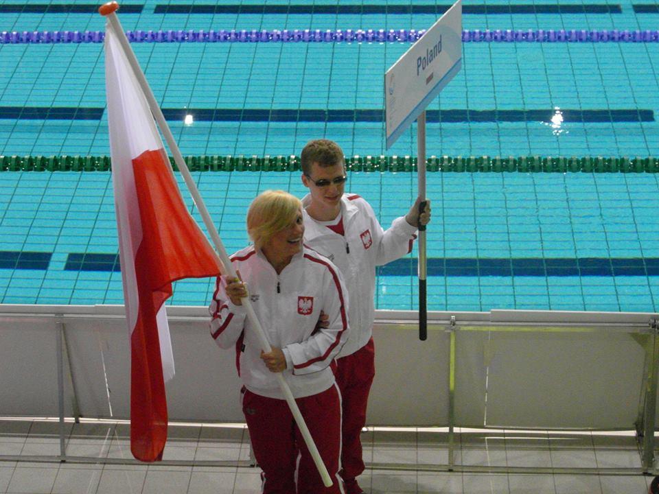 Wojciech Makowski jako chorąży naszej kadry
