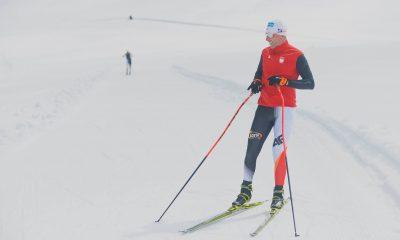 Tomasz Sikora na nartach