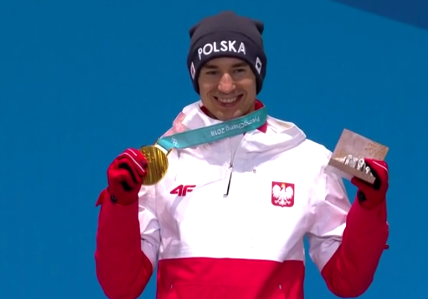 Kamil Stoch ze złotem