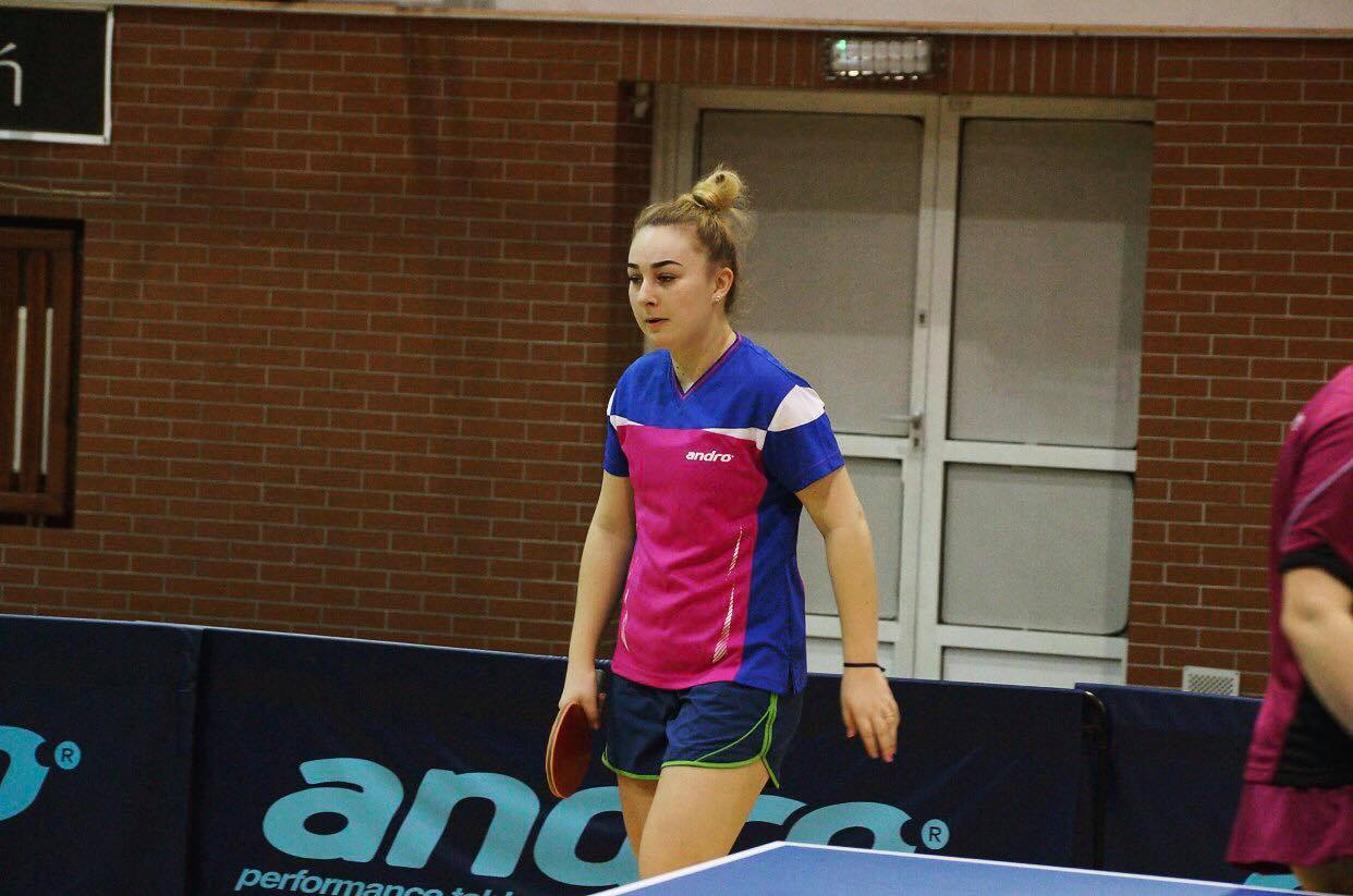 Natalia Bajor w trakcie meczu