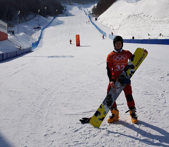 Oskar Kwiatkowski na Igrzyskach