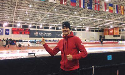 Sebastian Kłosiński na olimpijskiej arenie