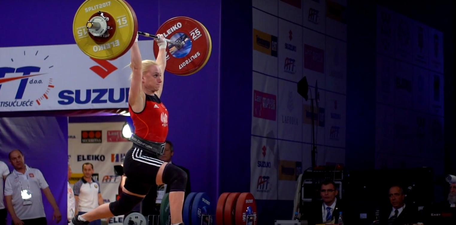 Joanna Łochowska podczas zawodów