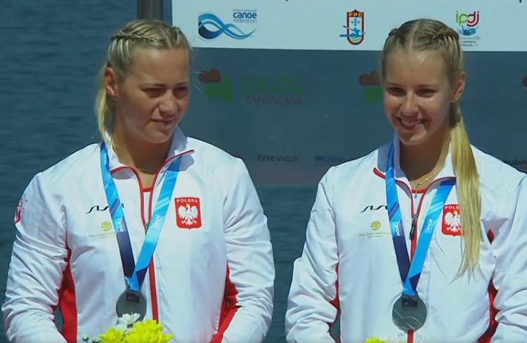 Dorota Borowska z medalem w C2