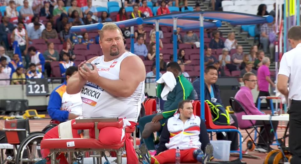 Janusz Rokicki w boju o podium