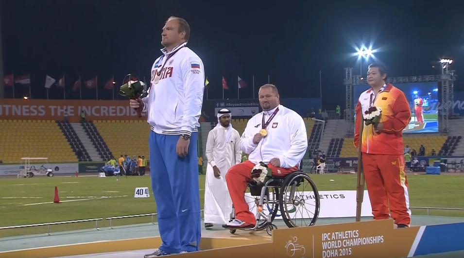 Janusz Rokicki mistrzem świata