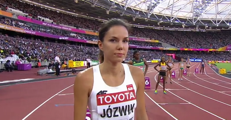 Nadzieja na rekord Polski Joanny Jóźwik