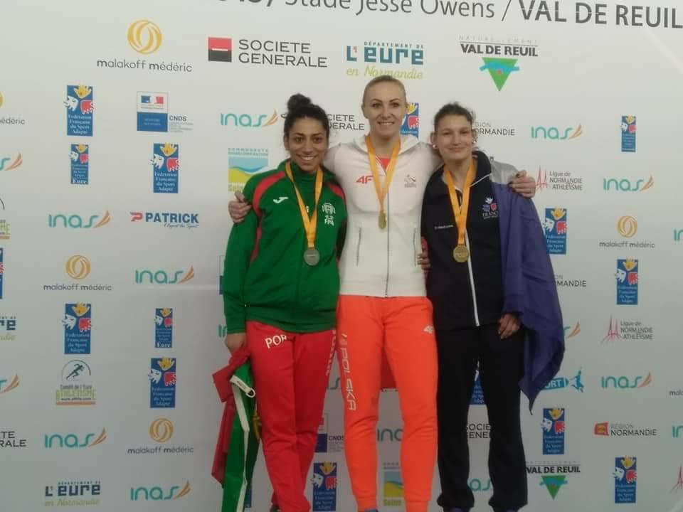 Karolina Kucharczyk złotą medalistką
