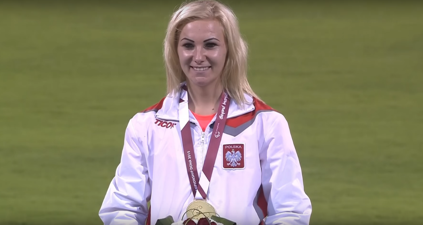 Złoty medal Karoliny Kucharczyk