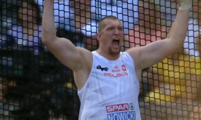 Wojciech Nowicki podczas zawodów