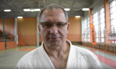 Rafał Kubacki podczas treningu