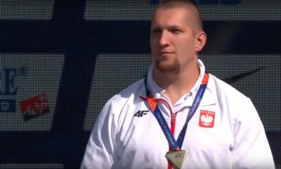 Wojciech Nowicki i jego złoty medal