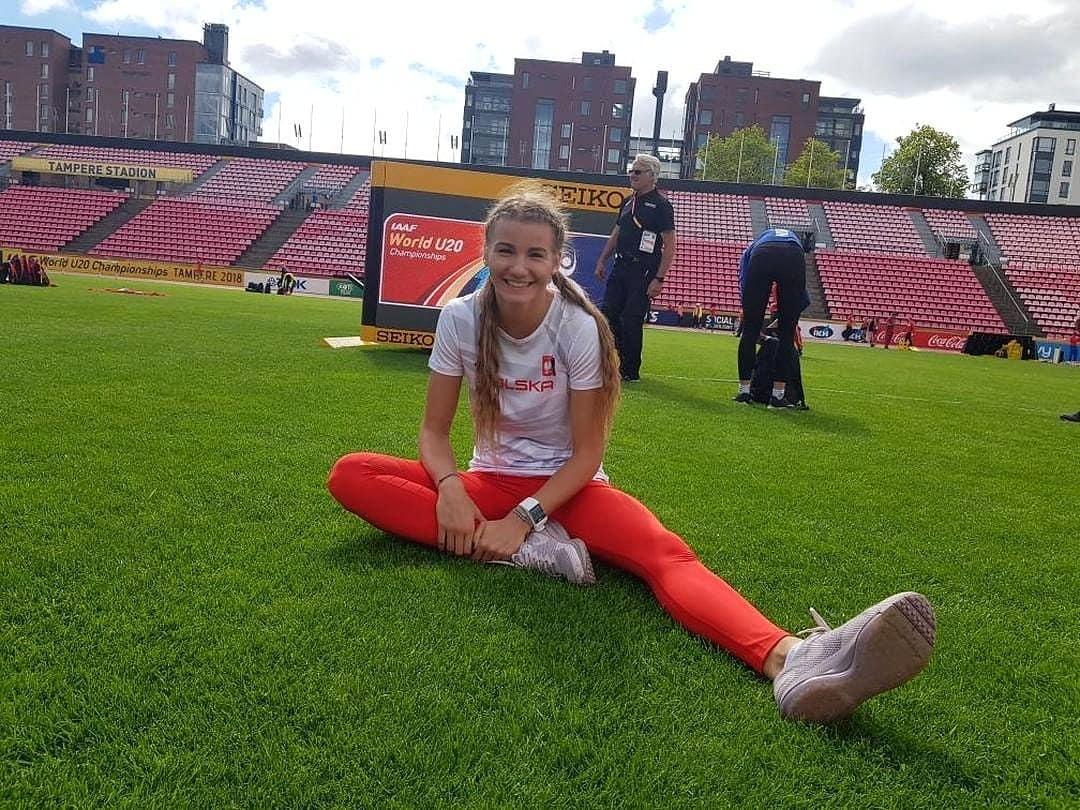 Adrianna Sułek po treningu