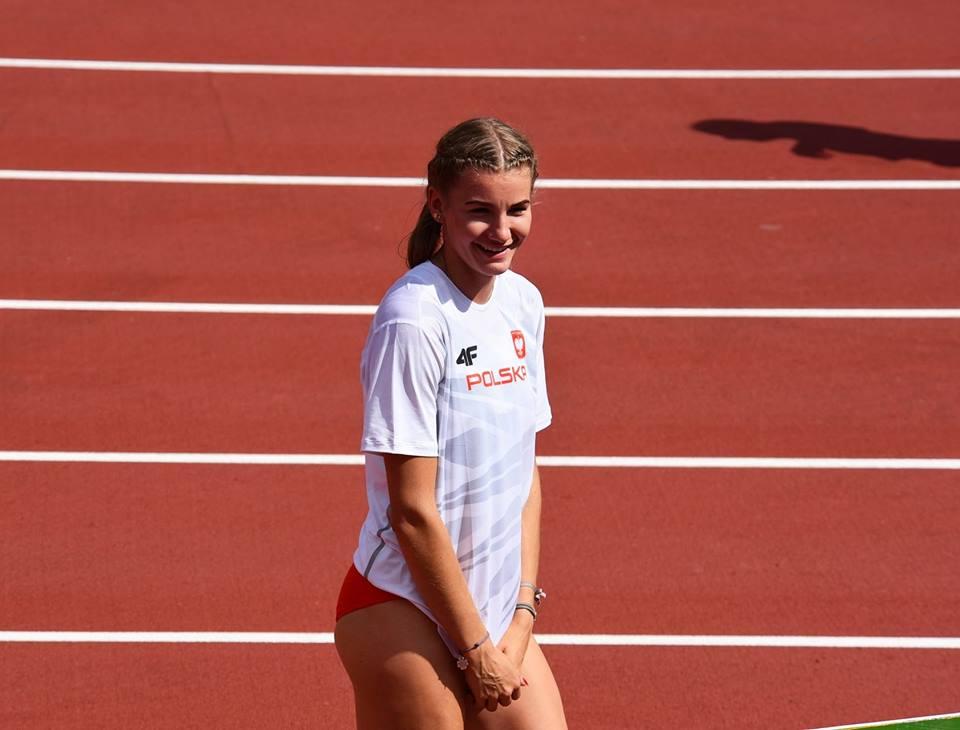 Adrianna Sułek na bieżni