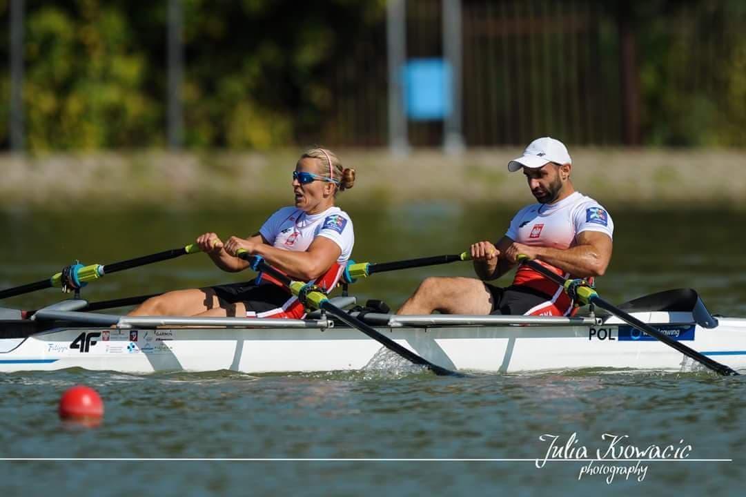 Jolanta Majka i Michał Gadowski w walce o medal