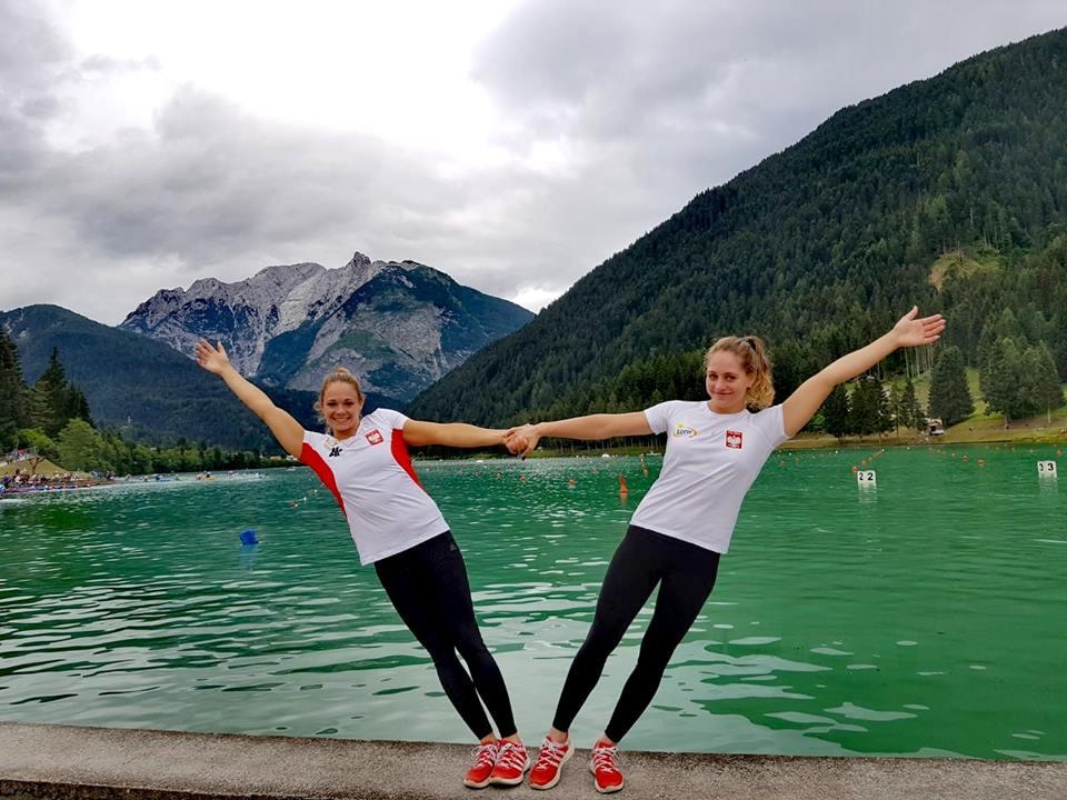 Justyna Iskrzycka i Paulina Paszek w górach