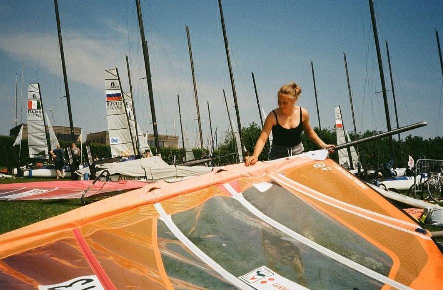 Lidia Sulikowska w porcie