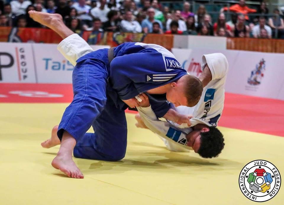 Iwo Baraniewski podczas walki