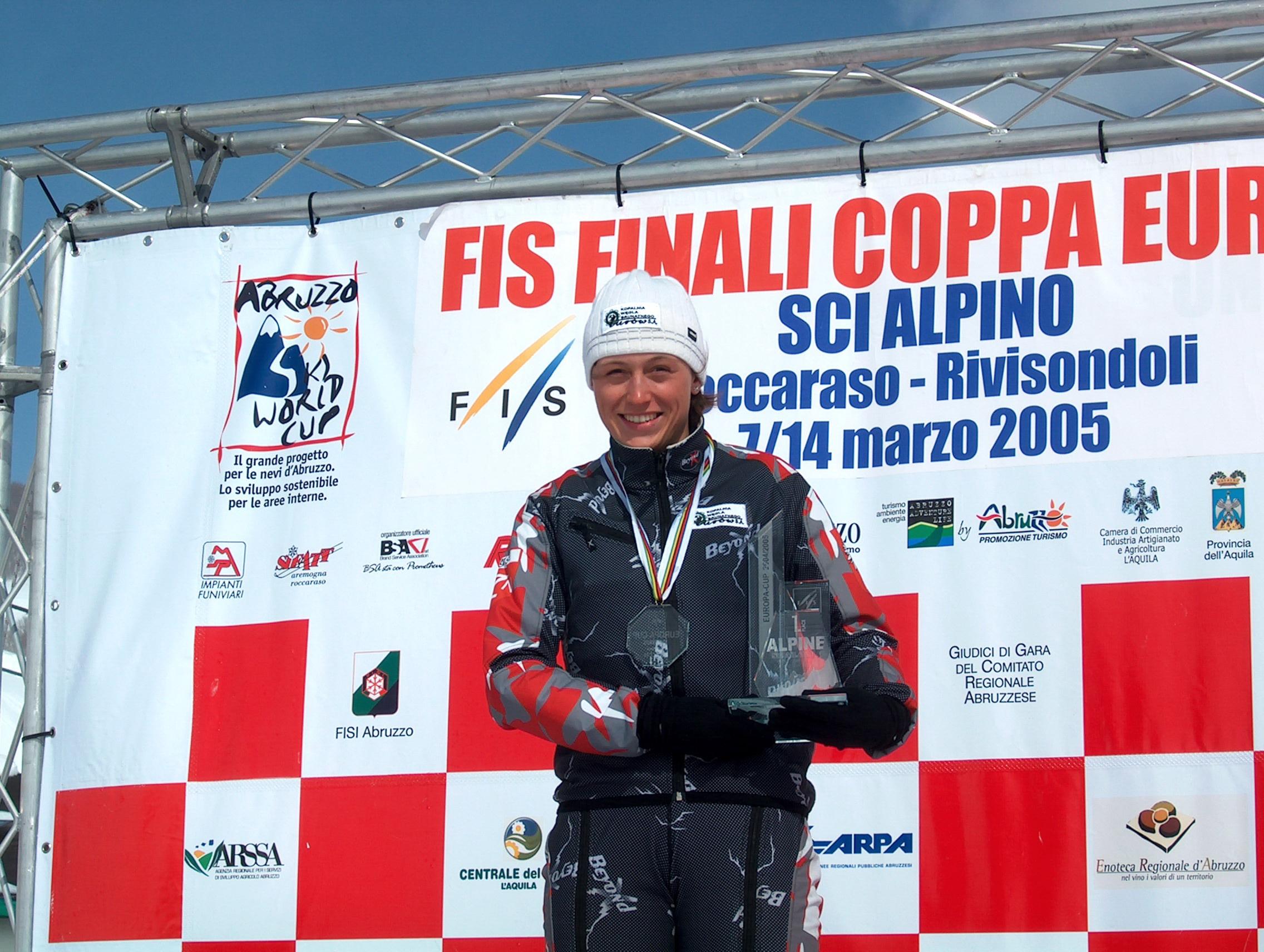 Katarzyna Karasińska na podium