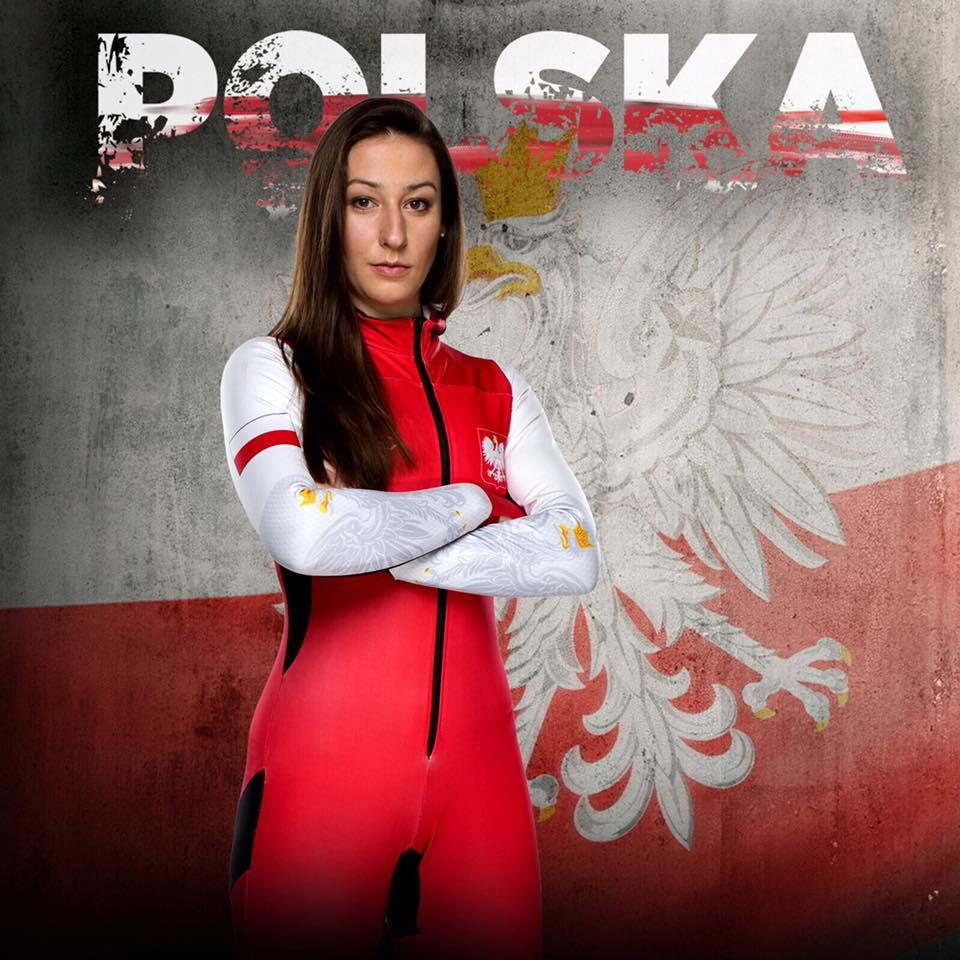 Marta Orłowska podczas prezentacji