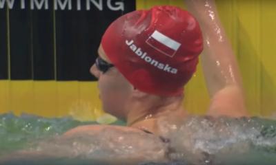 Oliwia Jabłońska w wodzie