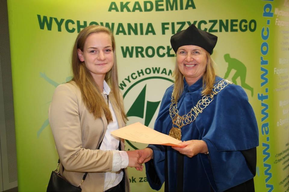 Oliwia Jabłońska zaczyna studia