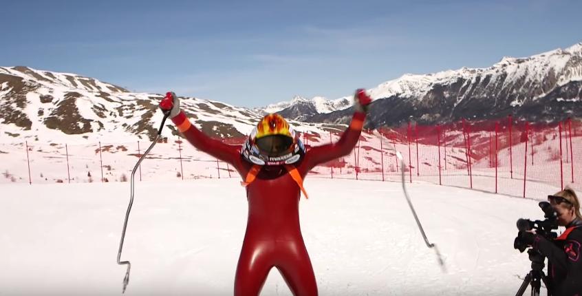 Jędrzej Dobrowolski ski speed