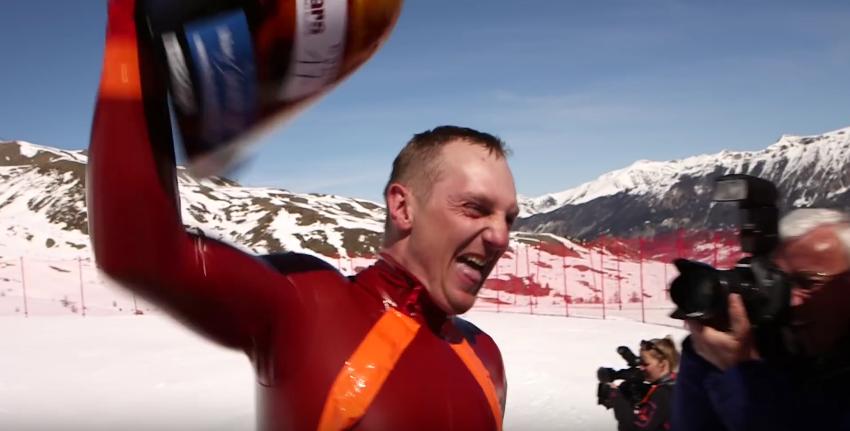 Jędrzej Dobrowolski speed ski