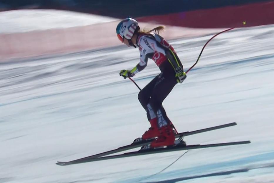 Mikaela Shiffrin podczas zawodów