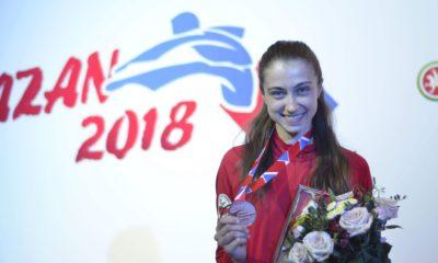 Patrycja Adamkiewicz z medalem