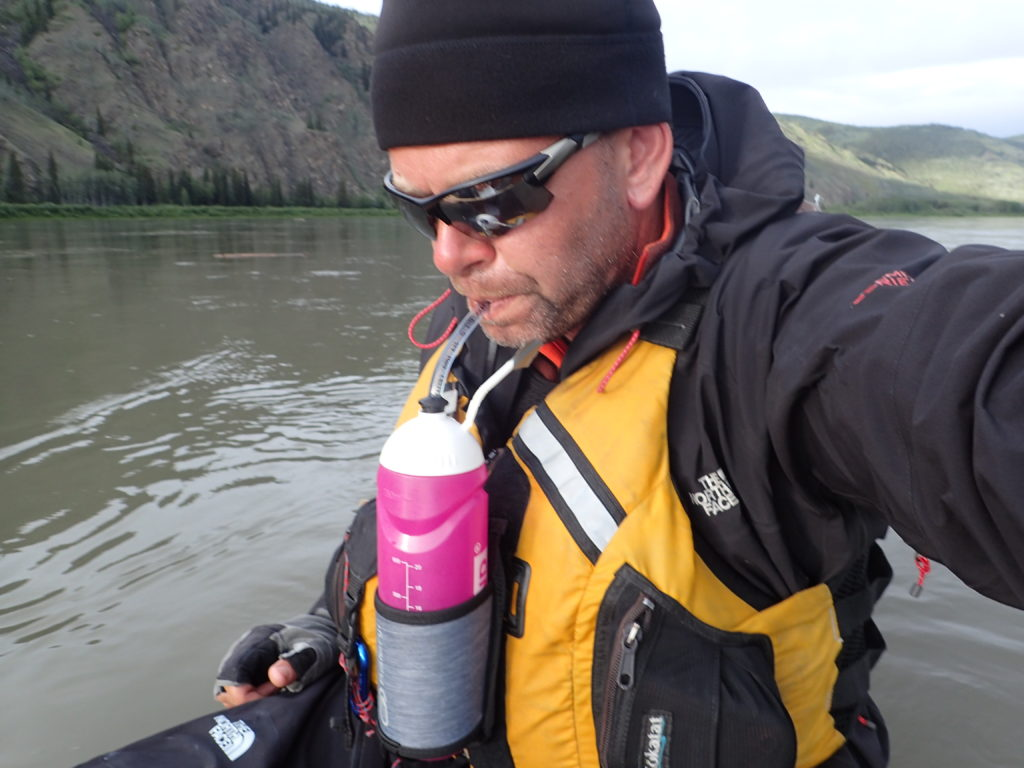 Marcin Gienieczko pije