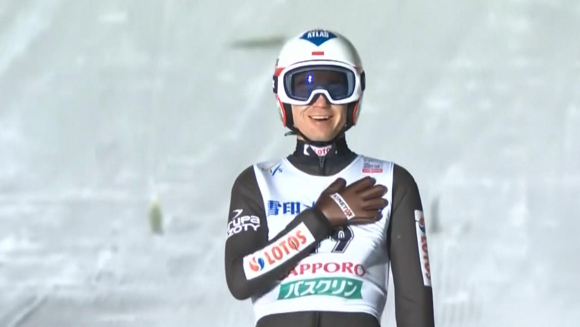 Kamil Stoch rekord w Sapporo