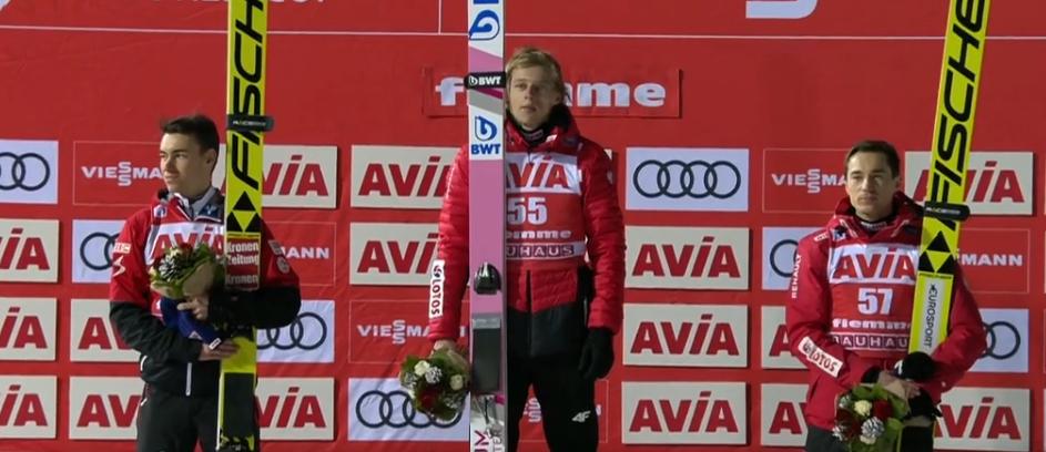 Dawid Kubacki wygrał w Predazzo