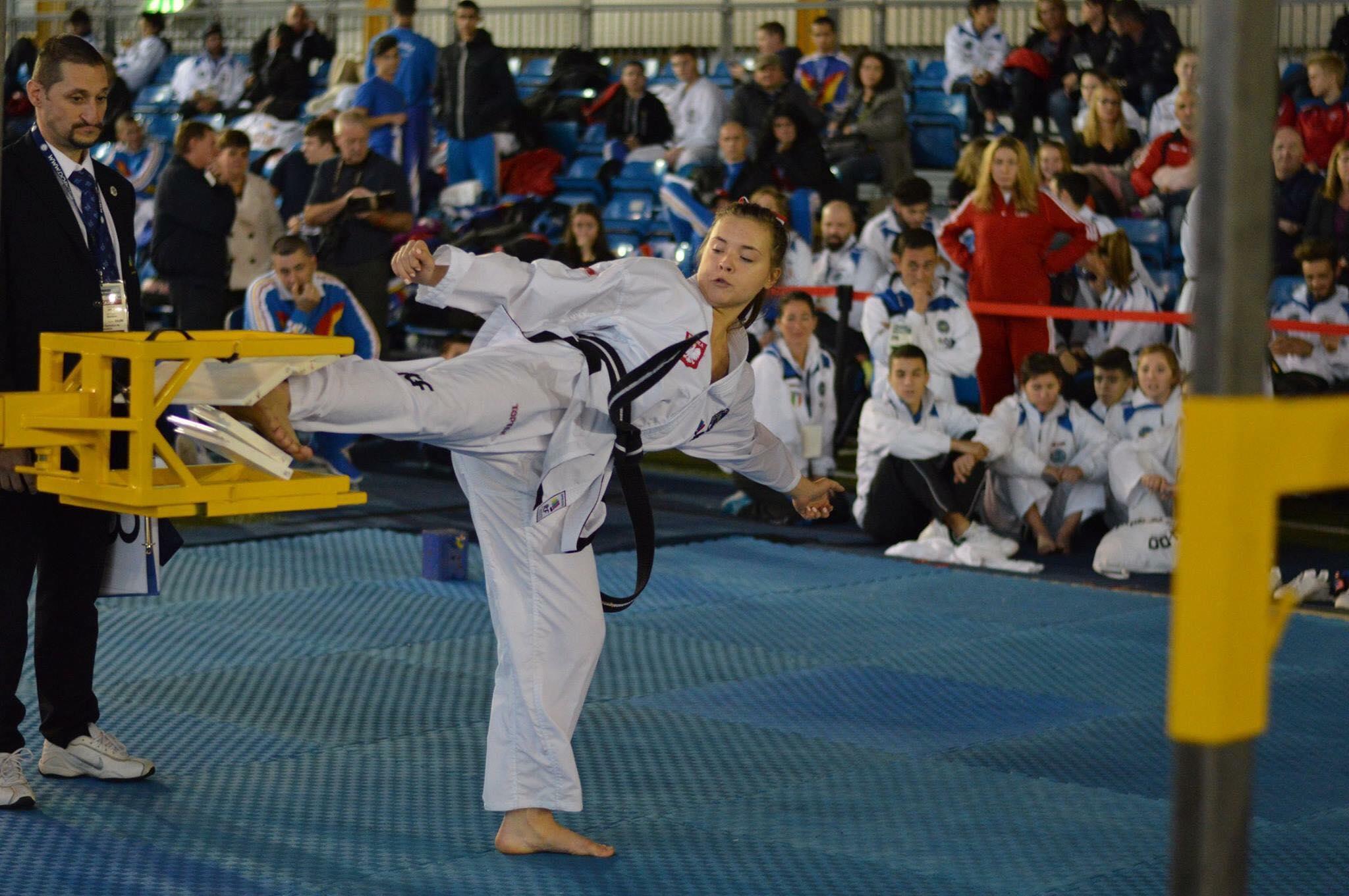Kamila Kasprzak na treningu